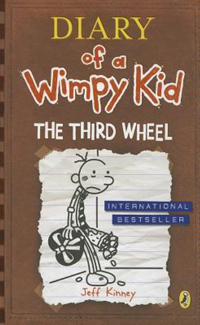 Kinney, Jeff / Diary of a Wimpy Kid: The Third Wheel ( Wimpy Kid Book 7) (Hardback)