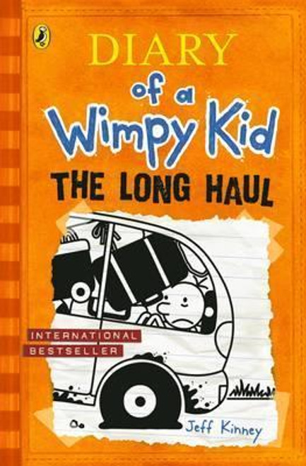 Kinney, Jeff / Diary of a Wimpy Kid: The Long Haul ( Wimpy Kid, Book 9 ) (Hardback)