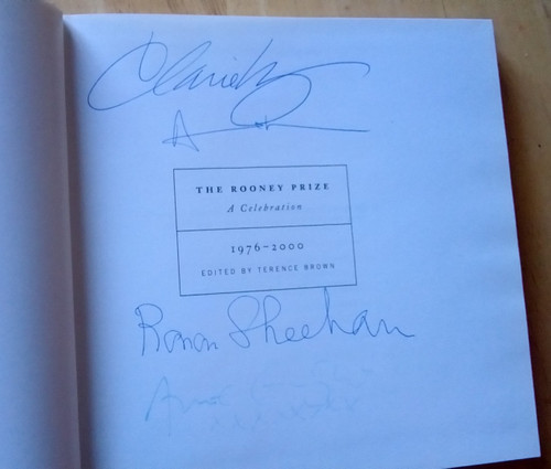 Rooney Prize : A celebration 1976-2000 - Hardback Limited Numbered edition ( Copy 40 of 250)  - Signed by 4 Contributors