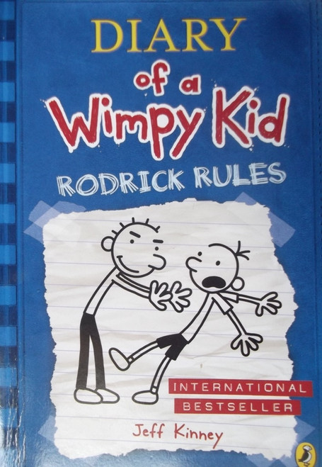 Kinney, Jeff / Diary of a Wimpy Kid : Roderick Rules ( Wimpy kid, Book 2 )