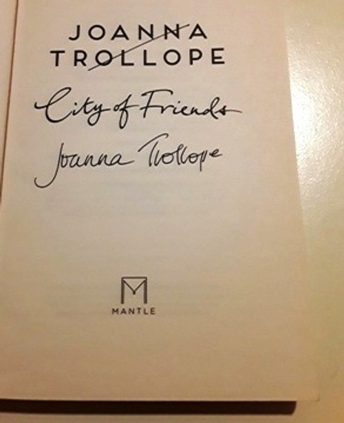 Joanna Trollope / City of Friends (Signed by the Author) (Large Paperback)