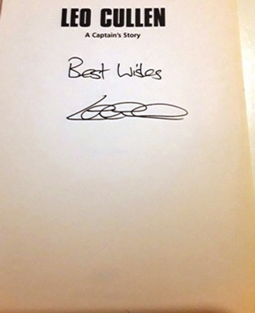 Leo Cullen / A Captain's Story (Signed by the Author) (Large Paperback)