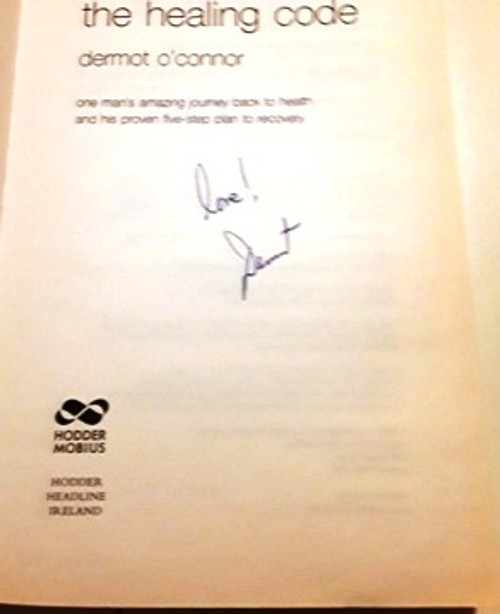 Dermot O'Connor / The Healing Code (Signed by the Author) (Large Paperback)