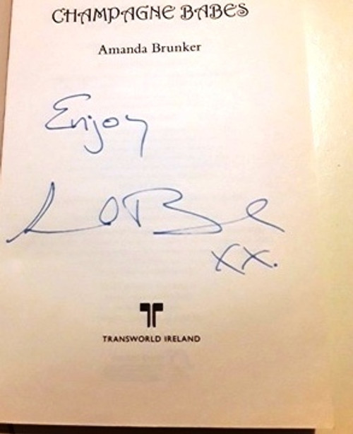 Amanda Brunker / Champagne Babes (Signed by the Author) (Large Paperback)