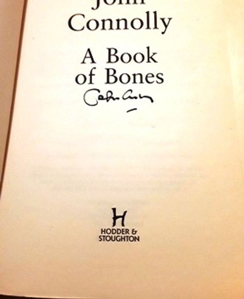 John Connolly / A Book of Bones (Signed by the Author) (Large Paperback)