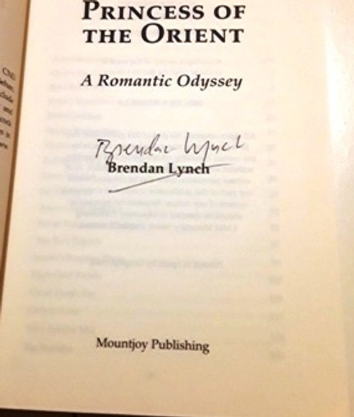 Brendan Lynch / Princess of the Orient (Signed by the Author) (Large Paperback)