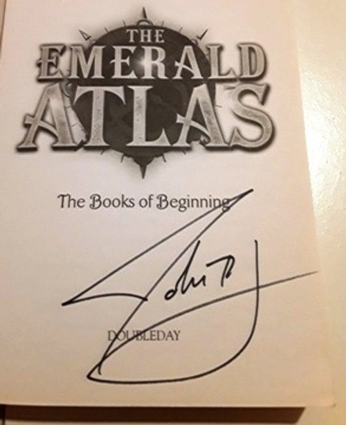 John Stephens / The Emerald Atlas (Signed by the Author) (Large Paperback)