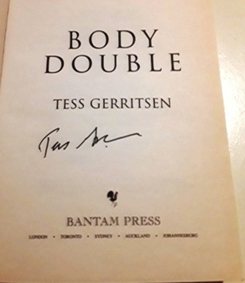 Tess Gerritsen / Body Double (Signed by the Author) (Large Paperback)