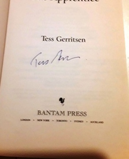 Tess Gerritsen / The Apprentice (Signed by the Author) (Large Paperback)