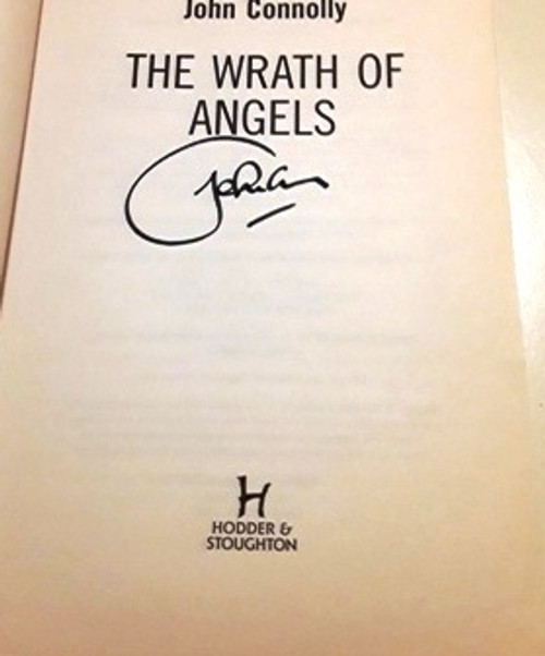 John Connolly / The Wrath of Angels (Signed by the Author) (Large Paperback)