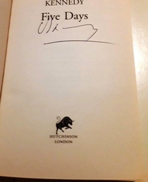 Douglas Kennedy / Five Days (Signed by the Author) (Large Paperback)