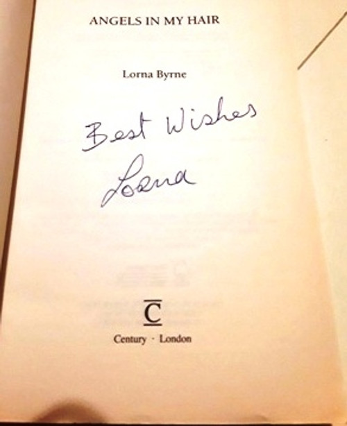Lorna Byrne / Angels in my Hair (Signed by the Author) (Large Paperback)