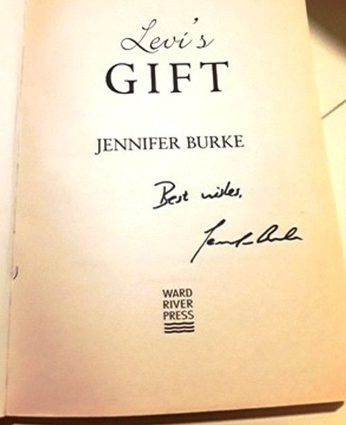 Jennifer Burke / Levi's Gift (Signed by the Author) (Large Paperback)