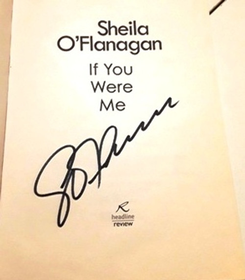 Sheila O'Flanagan / If You Were Me (Signed by the Author) (Large Paperback)