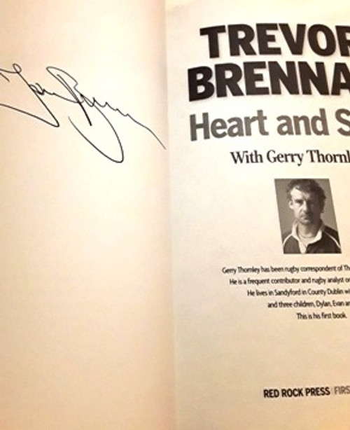 Trevor Brennan / Heart and Soul (Signed by the Author) (Large Paperback)
