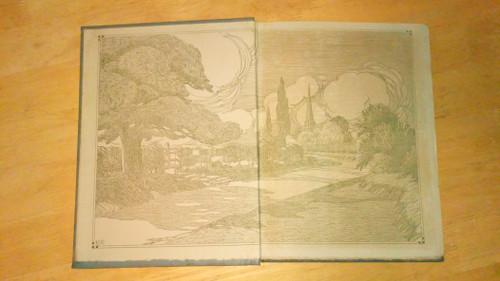 Thomas Gray - An Elegy Written in a Country Churchyard - Vintage 1914 A.C Black Illustrated Edition - Nicholls