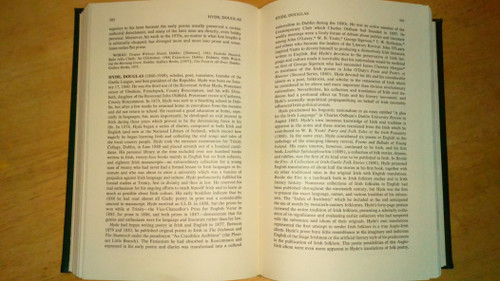 Hogan, Robert - Dictionary of Irish Literature HB - 1980 Greenwood Press  Ex Libris