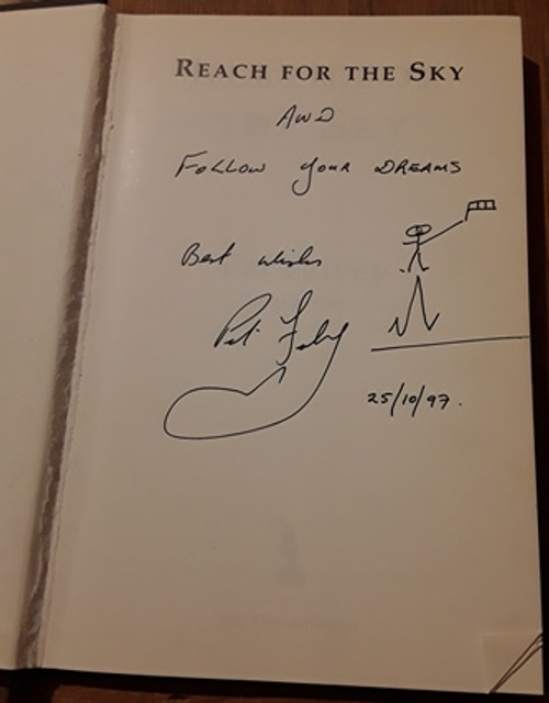 Pat Falvey / Reach for the Sky (Signed by the Author) (Large Hardback)