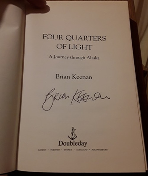 Brian Keenan / Four Quarters of Light (Signed by the Author) (Large Hardback)