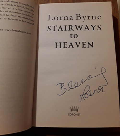 Lorna Byrne / Stairways to Heaven (Signed by the Author) (Paperback)