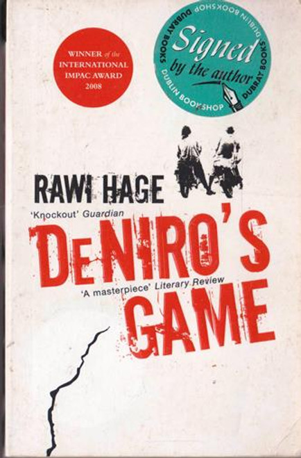 Rawi Hage / DeNiro's Game (Signed by the Author) (Paperback)