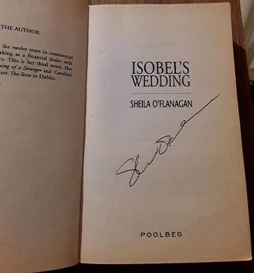 Sheila O'Flanagan / Isobel's Wedding (Signed by the Author) (Paperback)