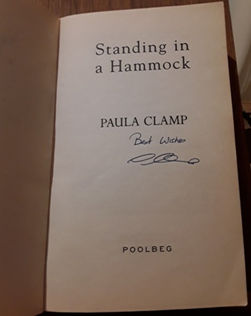 Paula Clamp / Standing in a Hammock (Signed by the Author) (Paperback)