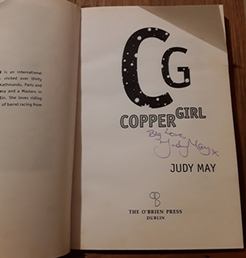 Judy May / Copper Girl (Signed by the Author) (Paperback)