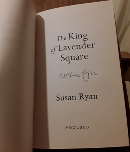Susan Ryan / The King of Lavender Square (Signed by the Author) (Paperback)