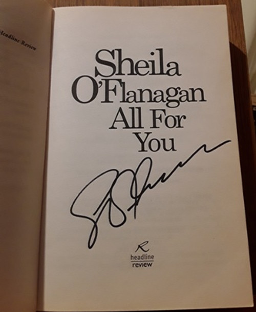 Sheila O'Flanagan / All For You (Signed by the Author) (Paperback)