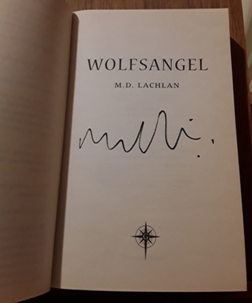 M.D. Lachlan / Wolfsangel (Signed by the Author) (Paperback)