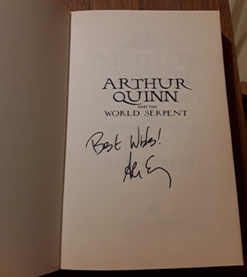 Alan Early / Arthur Quinn and the World Serpent (Signed by the Author) (Paperback) (1)