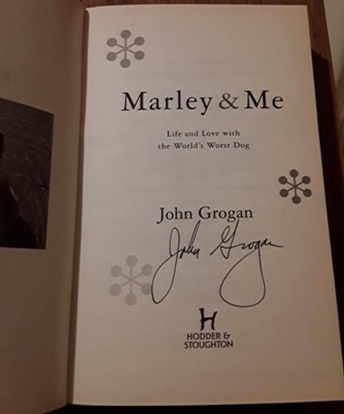 John Grogan / Marley & Me (Signed by the Author) (Hardback)