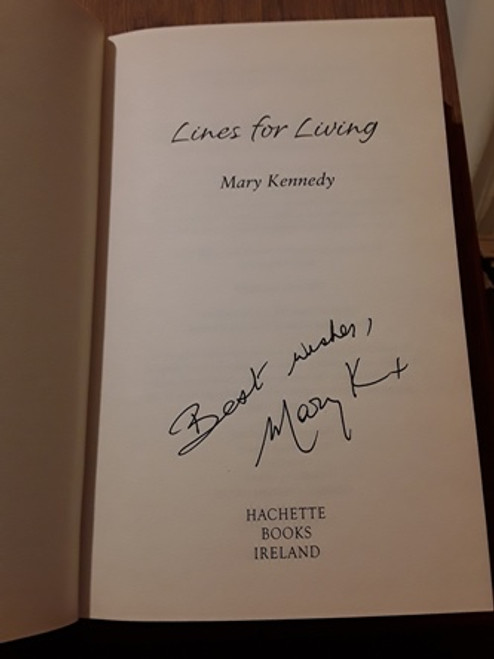 Mary Kennedy / Lines for Living (Signed by the Author) (Hardback)
