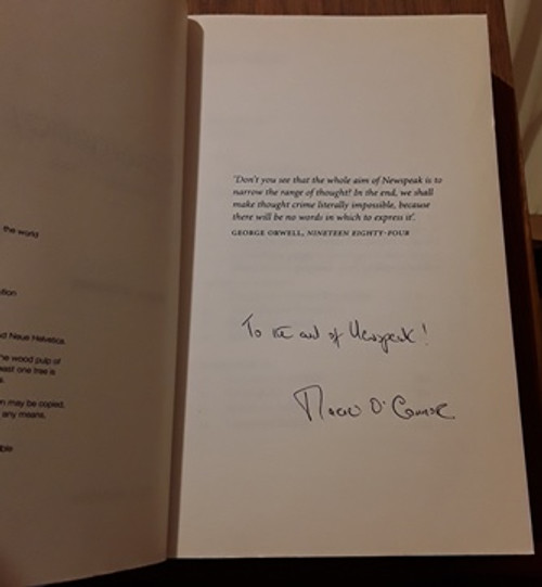 Marie O'Connor / Emergency: Irish Hospitals in Chaos (Signed by the Author) (Medium Paperback)