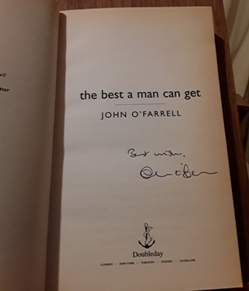 John O'Farrell / The Best a Man can Get (Signed by the Author) (Medium Paperback)