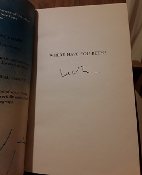 Joseph O'Connor / Where Have You Been? (Signed by the Author) (Medium Paperback)