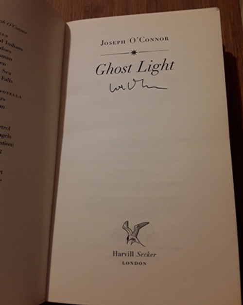 Joseph O'Connor / Ghost Light (Signed by the Author) (Medium Paperback)