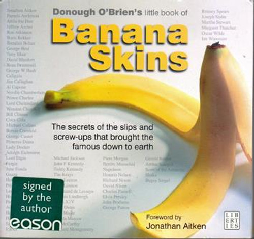 Donough O'Brien / Banana Skins (Signed by the Author) (Medium Paperback)