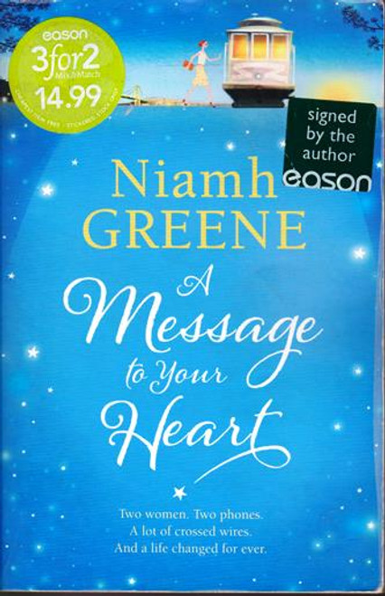 Niamh Greene / A Message to Your Heart (Signed by the Author) (Large Paperback)