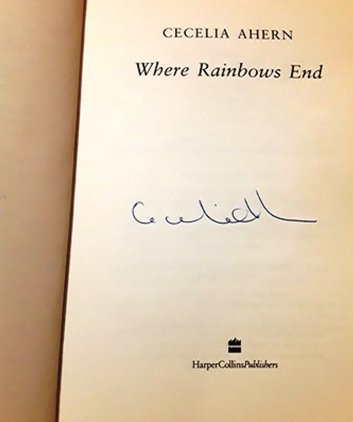 Cecelia Ahern / Where Rainbows End (Signed by the Author) (Large Paperback) (1)
