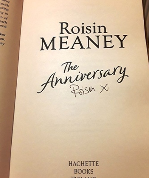 Roisin Meaney / The Anniversary (Signed by the Author) (Large Paperback)