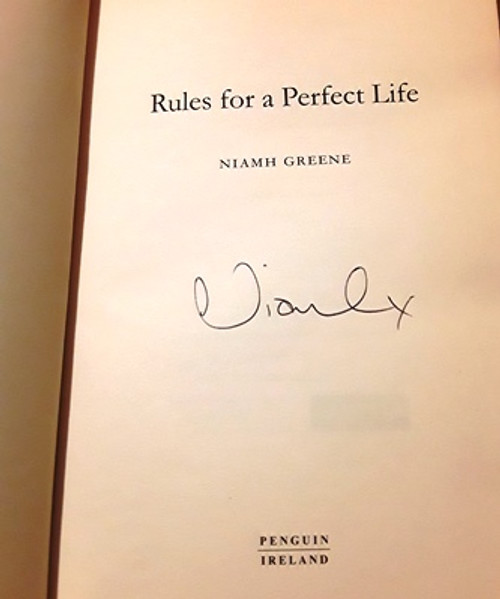 Niamh Greene / Rules for a Perfect Life (Signed by the Author) (Large Paperback)