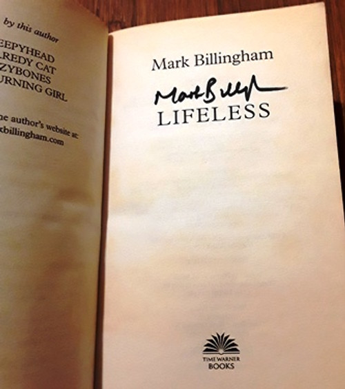 Mark Billingham / Lifeless (Signed by the Author) (Paperback)