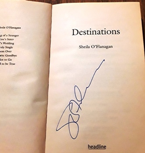 Sheila O'Flanagan / Destinations (Signed by the Author) (Paperback)