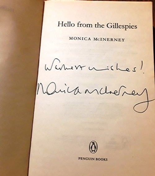 Monica McInerney / Hello from the Gillespies (Signed by the Author) (Paperback)