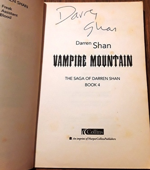 Darren Shan / Vampire Mountain (Signed by the Author) (Paperback)