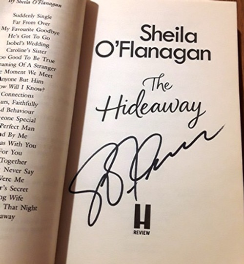 Sheila O'Flanagan / The Hideaway (Signed by the Author) (Paperback)