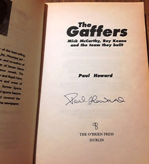 Paul Howard / The Gaffers (Signed by the Author) (Paperback)