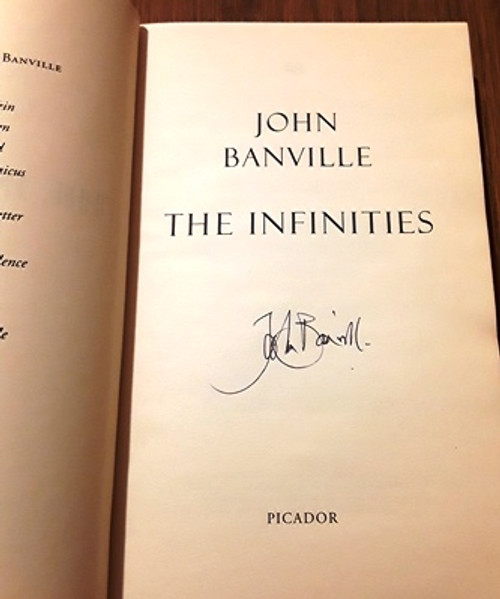 John Banville / The Infinites (Signed by the Author) (Medium Paperback)